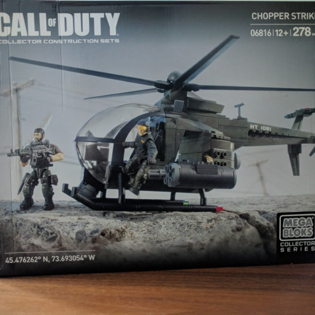 Megabloks Call Of Duty Chopper Strike