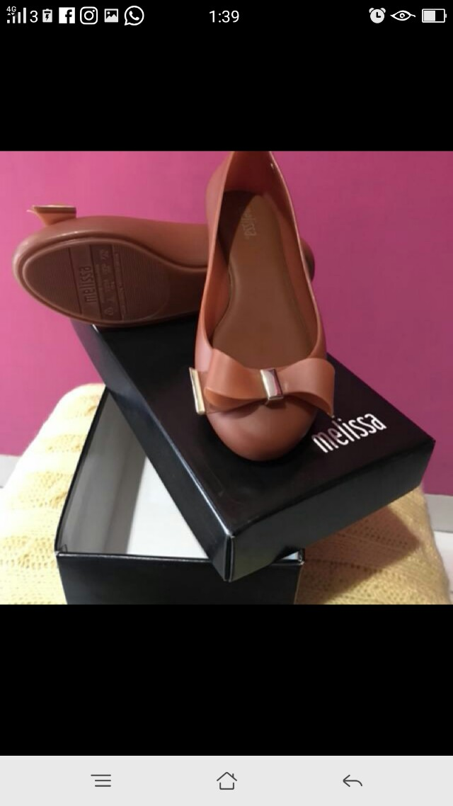 Melissa jelly shoes authentic