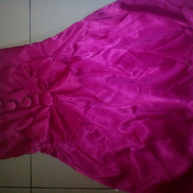 Mini dress skirt satin