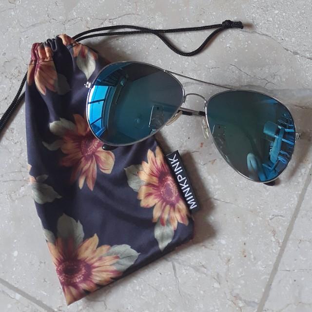 Mink pink sunglasses