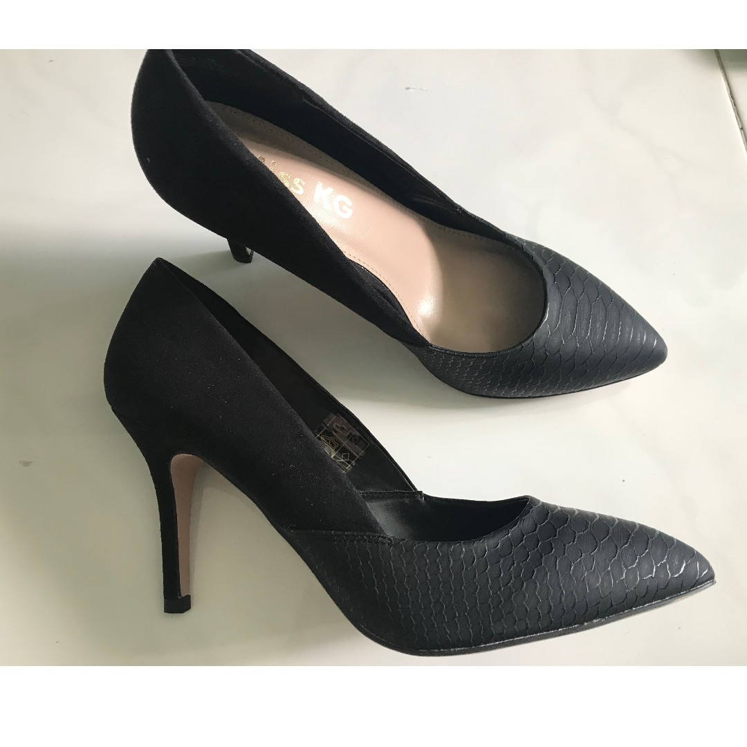 69a618ec7b6 Miss KG Black Pointed Heels, Women's Fashion, Shoes on Carousell