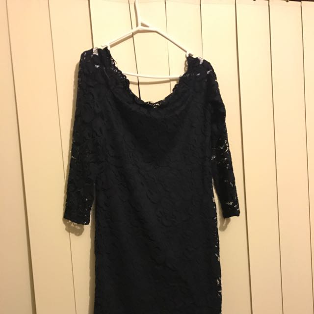 Navy Blue H&M Dress
