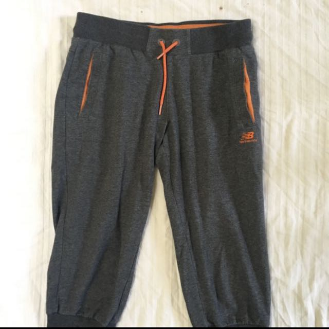New Balance Sweatpants (length Just About The Knee)