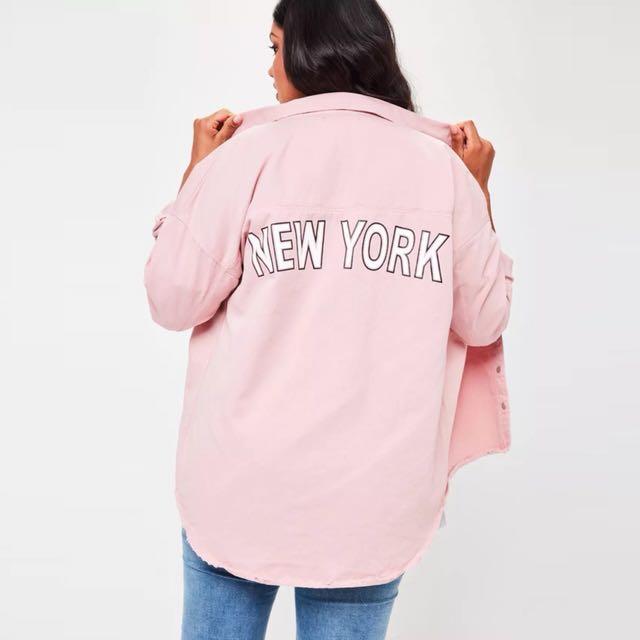 New York 風衣外套