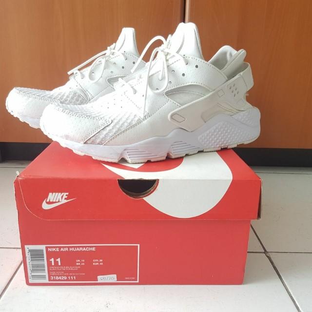 Nike Air Huarache All White Original size 45
