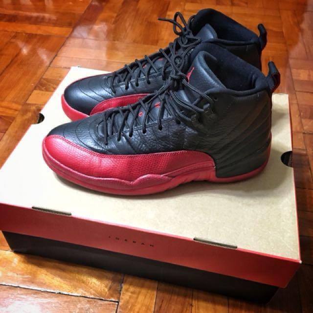 "purchase cheap 616a3 8a7b1 Nike Air Jordan 12 Retro XII ""Flu Game "" size US10.5"