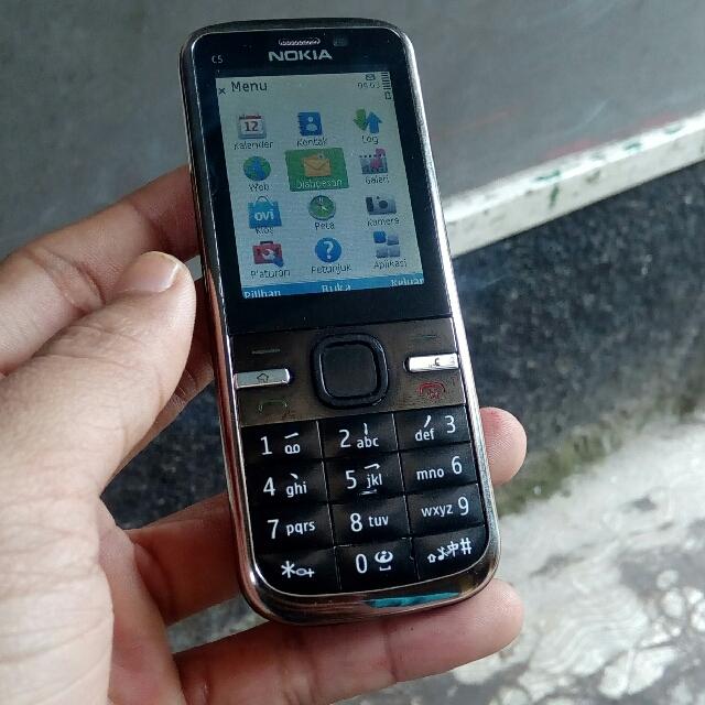 Nokia C5-00 Symbian Normal Sinyal 3G, Mobile Phones