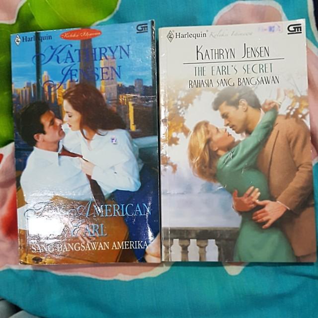 Novel Harlequin - Kathryn Jensen