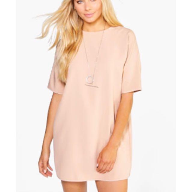 NUDE shift dress