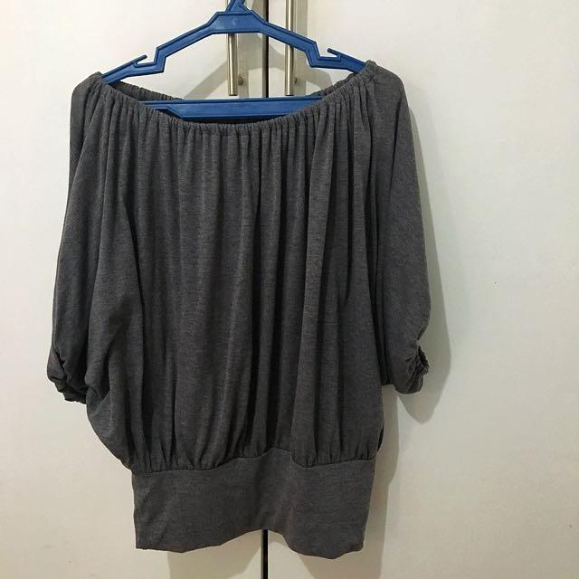 Off-shoulder Cotton Top
