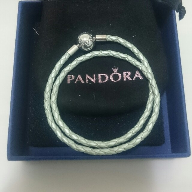 Pandora雙層皮繩