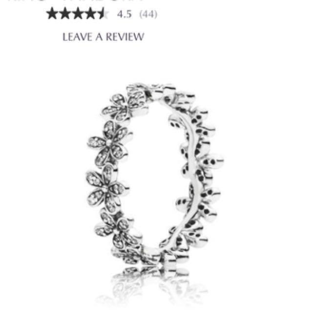 Pandora daisy chain ring