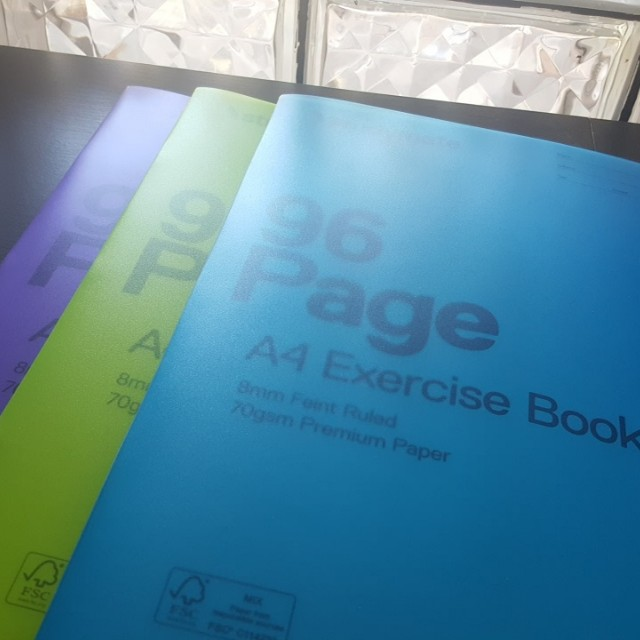 PP Cover Exercise Books