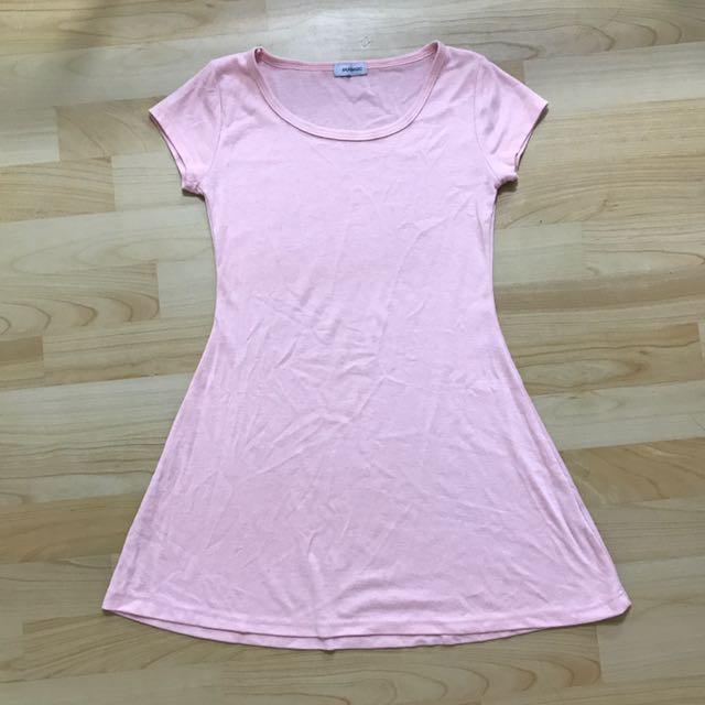 Pure basic pink dress