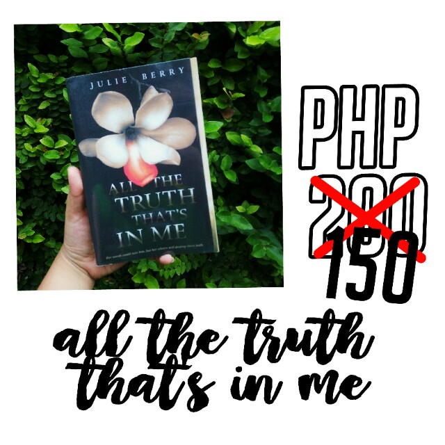 REPRICED: All the truth that's in me