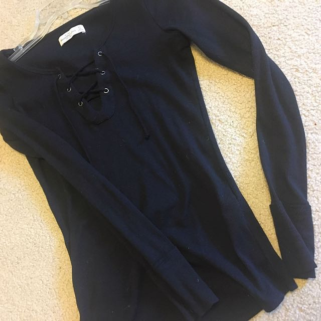 Ribbed top Abercrombie
