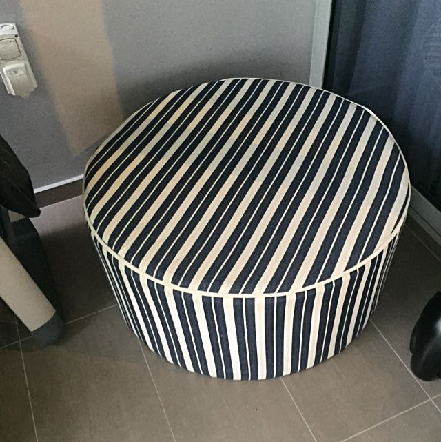 Swell Round Ottoman Furniture Others On Carousell Pdpeps Interior Chair Design Pdpepsorg