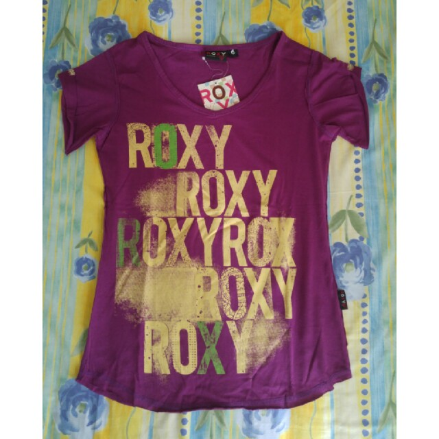 Roxy purple tee