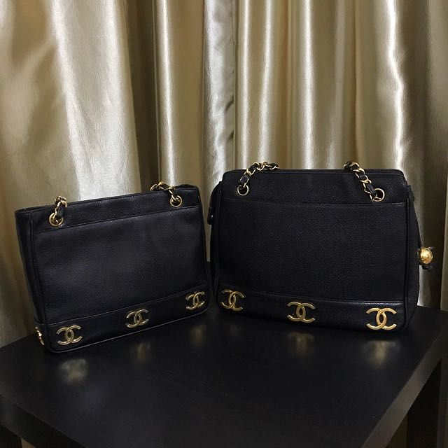 💝Showcase Only 💝 Chanel Vintage Bags - Caviar