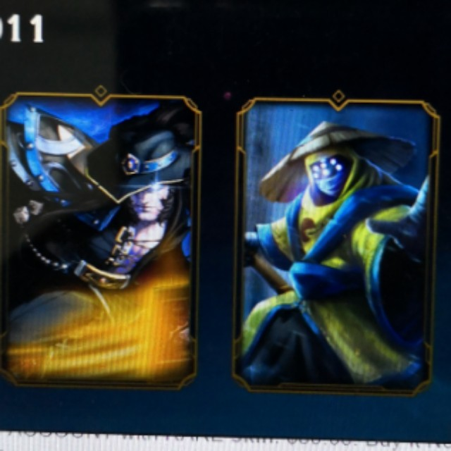 League of legends account with rare skin, PAX Jax, PAX Twisted Fate