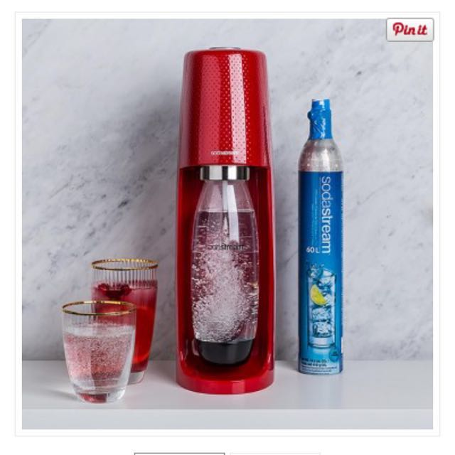 Sodastream FIZZI sparking water maker (Red)