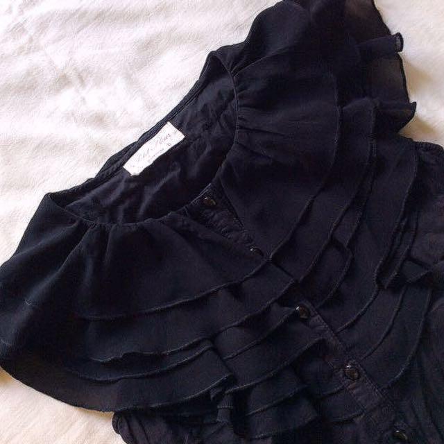 [Somerset Bay] Layered Neckline Shirt.