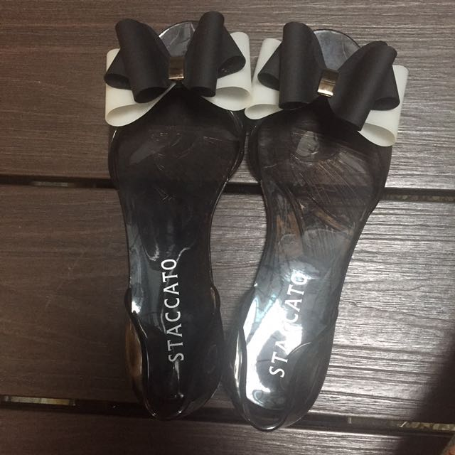 Stacatto jelly flatshoes