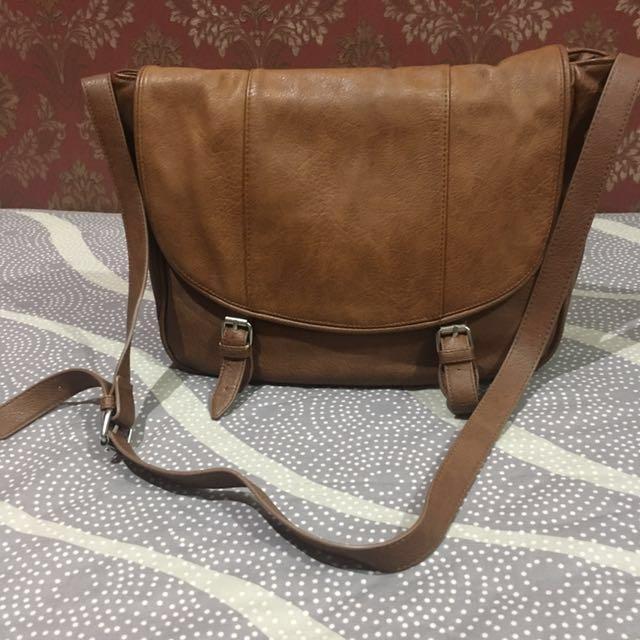 Stradivarius Brown Crossbody Bag #CNY2018
