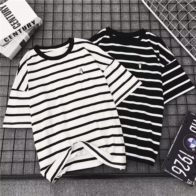 Stripes Ulzzang Shirt (PO)