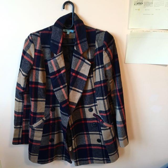 [SYDNEY] Size 12 Brown Coat
