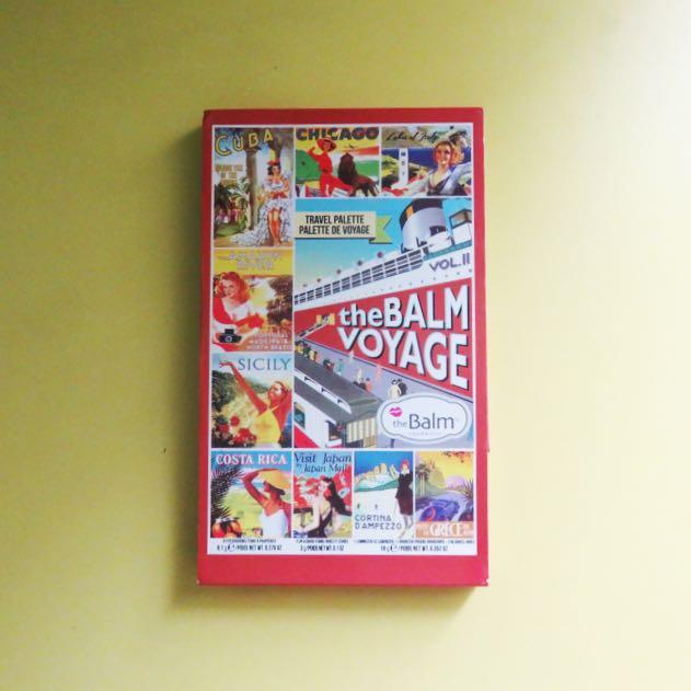 The Balm Voyage Vol. II - BACA DESCRIPTION 😊