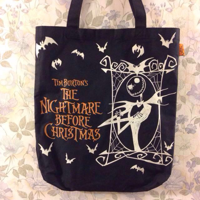 The Nightmare Before Christmas tote