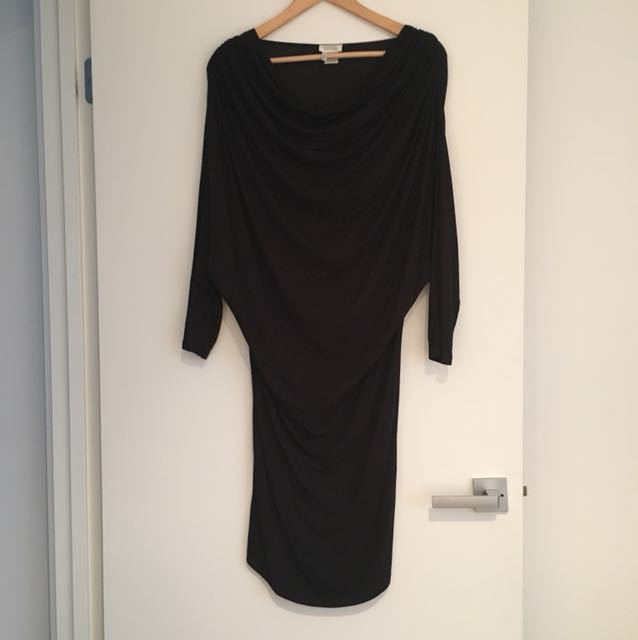 Tony Cohen black Knit Dress
