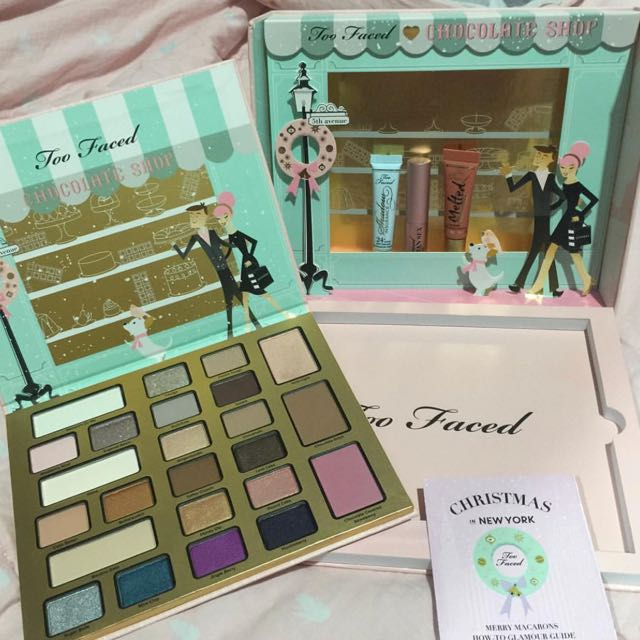 Too faced chocolate shop (holiday collection) 100% NEW dan ORI !!