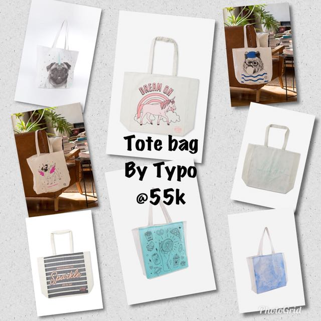Tote bag by typo