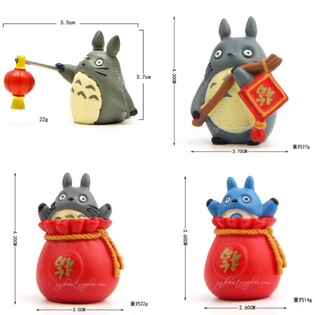 Totoro Collections: Special For Chinese New Year 龙猫福袋龙猫钱袋