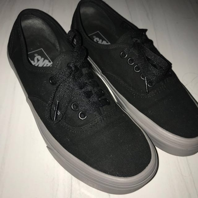 829ccc41a0f80a Vans Authentic (Pop) (Black Frost Grey)