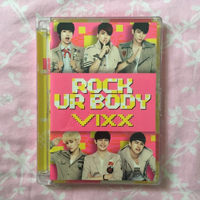 [VIXX] Rock Ur Body Single Album Vol. 2