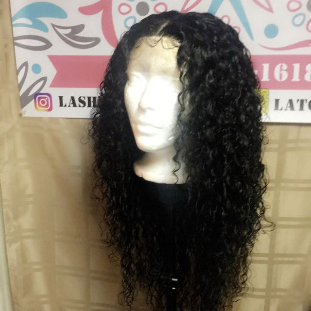Water wave wig <Made by me ...