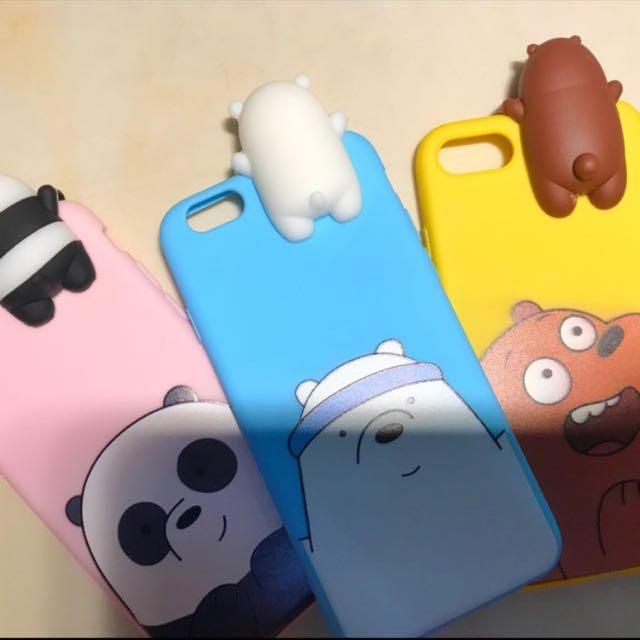 WE BARE BEARS iphone case
