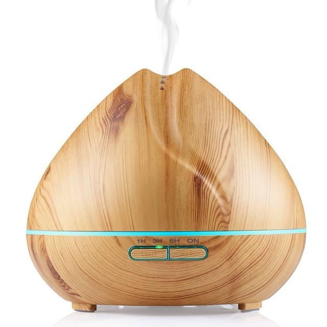 Wooden Fish Peak Essential Oil Aroma Diffuser