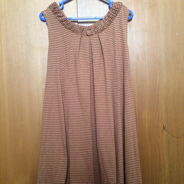 Zara dress stripe