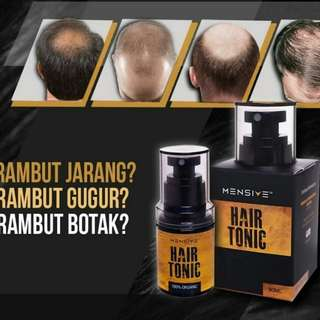 Authentic Mensive Hair Tonic