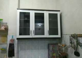 Kitchen Set atas 3 Pintu / 118 x 33 x 82,5