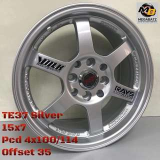 Mags  TE37 SILVER