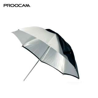 Proocam BW2 2 In 1 Soft and Reversible Studio Photo Umbrella 110cm