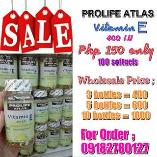 Original Prolife Atlas Vitamin E 400iu