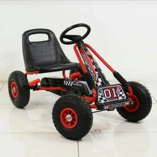 SMALL Pedal Go-Kart with Rubber Tires