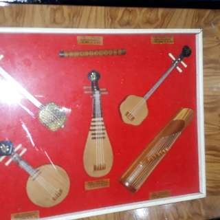 Antique China display set of the old this kind display set  of the famous Chinese emperor musical instrument / No dealers  price is fixed