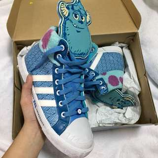 Adidas Monster Inc. sneakers